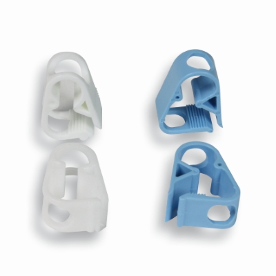 Plastic slang clips