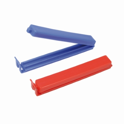 Hersluitbare plastic clips