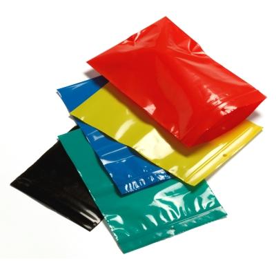 Sachets Zip opaques colorés