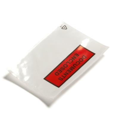Enveloppes packing list