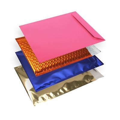 Enveloppes colorées