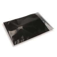 Snazzybag A4 / C4 zwart ondoorzichtig