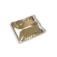 Snazzybag 160 x 160 goud ondoorzichtig