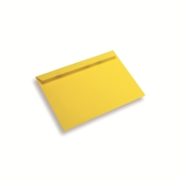 Papieren envelop A5 / C5 geel