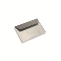 Enveloppe papier A6 / C6 argentée
