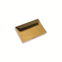 Enveloppe papier A6 / C6 dorée