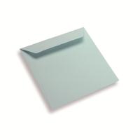 Papieren envelop 170 x 170 lichtblauw