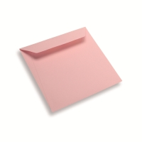 Enveloppe papier 170 x 170 rose