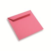 Enveloppe papier 170 x 170 rose vif