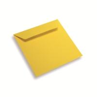 Papieren envelop 170 x 170 geel