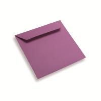 Papieren envelop 170 x 170 paars