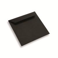 Enveloppe papier 170 x 170 noir