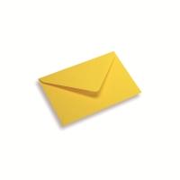Papieren envelop 120 x 185 geel