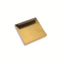 Enveloppe papier 130 x 130 dorée