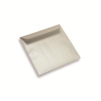 Enveloppe papier 155 x 155 Blanc Perle