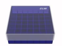 Storage box voor 49 buizen, blauw, b47b