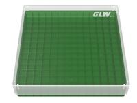 Storage box voor 196 vaatjes, groen, b30g
