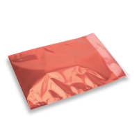 Snazzybag A4 / C4 rood half transparant