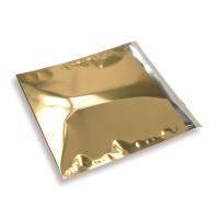 Snazzybag 220 x 220 goud ondoorzichtig
