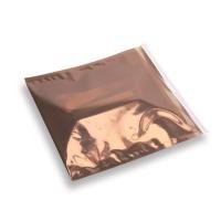 Snazzybag 220 x 220 braun halb-transparent