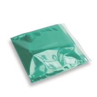 Snazzybag 220 x 220 groen half transparant
