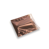 Snazzybag 160 x 160 bruin half transparant