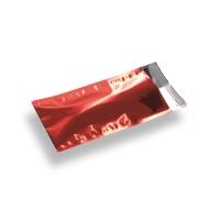 Snazzybag Din Long rood ondoorzichtig