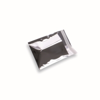 Snazzybag 120 x 120 zilver ondoorzichtig