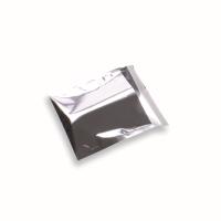 Snazzybag 140 x 140 zilver ondoorzichtig