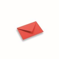 Enveloppe papier A6/C6 rouge