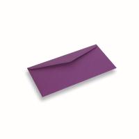 Papieren envelop 110x220 Paars