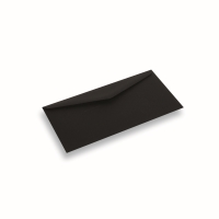 Enveloppe papier Din Long noir