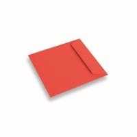Enveloppe papier 170x170 rouge