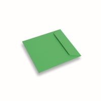 Enveloppe papier 170x170 Vert Pomme