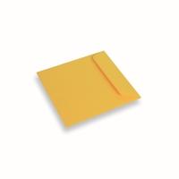 Enveloppe Papier 170x170 Jaune Soleil