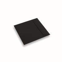 Enveloppe papier 170x170 noir