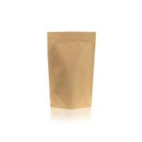 Koffie Pouch Kraftpaper VMPET 500 gram koffiebonen