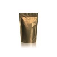 Koffie Pouch mat goud 500 gram bonen