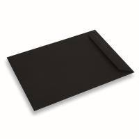 Enveloppe papier 220x312 noir