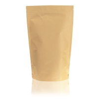 Brown kraft paper 45g/VMPET12/LDPE80