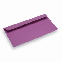Enveloppe papier Din Long mauve