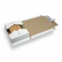 Verzendverpakking variabele hoogte A4 / C4 wit