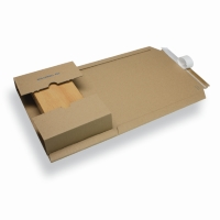 Verzendverpakking variabele hoogte A3 / C3 bruin