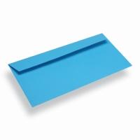 Papieren envelop Din Long blauw