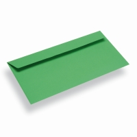 Papieren envelop Din Long groen