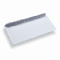 Papieren envelop Din Long wit zonder venster
