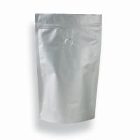 1,7l - Doypack zip argenté mat valve