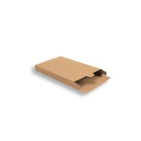 Bruine Kartonnen Verzendverpakkingen 160 + 29 x 250 mm