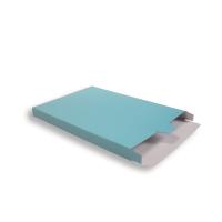 Blauwe Kartonnen Verzendverpakkingen 240 + 29 x 350 mm