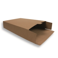braune Versandverpackung (Karton) 305 + 90 x 420 mm